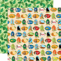 Carta Bella Paper - Zoo Adventure Collection - 12 x 12 Double Sided Paper - Zoo Crew