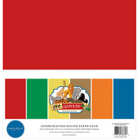 Carta Bella Paper - Zoo Adventure Collection - 12 x 12 Paper Pack - Solids