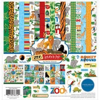 Carta Bella Paper - Zoo Adventure Collection - 12 x 12 Collection Kit