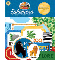 Carta Bella Paper - Zoo Adventure Collection - Ephemera