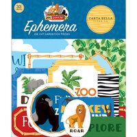Carta Bella Paper - Zoo Adventure Collection - Ephemera
