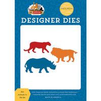 Carta Bella Paper - Zoo Adventure Collection - Designer Dies - Zoo Animals Number 1