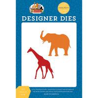 Carta Bella Paper - Zoo Adventure Collection - Designer Dies - Zoo Animals Number 2