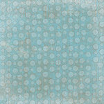 Carolee's Creations - Patterned Paper - Winter Collection - Snowy Teal, CLEARANCE