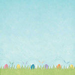 Carolee's Creations - Adornit - Easter Collection - 12 x 12 Paper - Hippity Hop