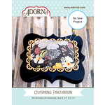 Carolee's Creations - Adornit - Fabric Box Kit - Charming Pin Cushion