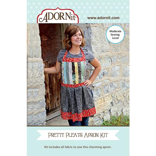 Carolee's Creations - Adornit - Fabric Box Kit - Pretty Pleats Apron