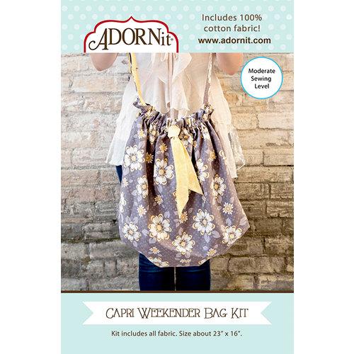 Carolee's Creations - Adornit - Fabric Box Kit - Weekender Bag - Capri