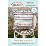 Carolee's Creations - Adornit - Fabric Box Kit - Rows of Ruffles Pillow