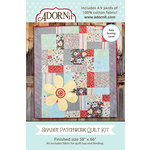Carolee's Creations - Adornit - Fabric Box Kit - Shabby Patchwork Quilt