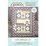 Carolee's Creations - Adornit - Fabric Box Kit - Capri Daisies Quilt
