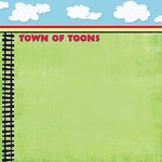 Carolee's Creations Adornit - Travel Collection - Paper - Town of Toons, CLEARANCE