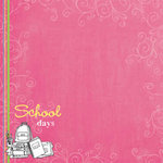 Carolee's Creations Adornit - School Days Collection - Paper - School Days Girl