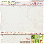 Carolee's Creations Adornit - Sister Love Collection - 12x12 Paper - Sister Chatter
