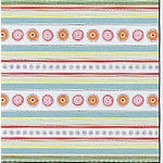 Carolee's Creations Adornit - Whoopsy Daisy Collection - 12x12 Paper - Whoopsy Stripes, CLEARANCE