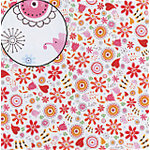Carolee's Creations Adornit - Whoopsy Daisy Collection - 12x12 Paper - Whoopsy Daisy, CLEARANCE