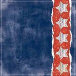Carolee's Creations - Adornit - All American Collection - 12 x 12 Paper - Proud to be American