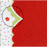 Carolee's Creations - Adornit - Pet Christmas Collection - 12 x 12 Paper - Pitter Patter, CLEARANCE