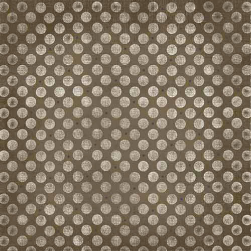 Carolee's Creations - Adornit - Family Hertiage Collection - 12 x 12 Paper - Chocolate Polka Dots