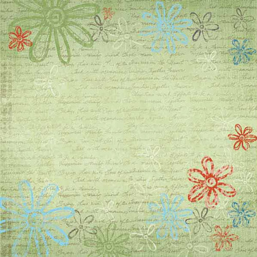 Carolee's Creations - Adornit - Family Hertiage Collection - 12 x 12 Paper - Forever Family