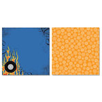 Carolee's Creations - Adornit - Rev em Up Collection - 12 x 12 Double Sided Paper - Fast Ride A