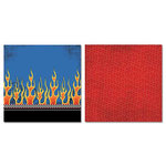 Carolee's Creations - Adornit - Rev em Up Collection - 12 x 12 Double Sided Paper - Fast Ride B