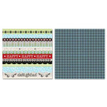 Carolee's Creations - Adornit - Misty Collection - 12 x 12 Double Sided Paper - Delighted