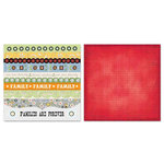 Carolee's Creations - Adornit - Vintage Groove Collection - 12 x 12 Double Sided Paper - Vintage Fun