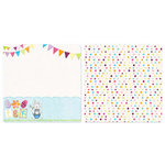 Carolee's Creations - Adornit - Easter Collection - 12 x 12 Double Sided Paper - Easter Party
