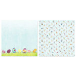Carolee's Creations - Adornit - Easter Collection - 12 x 12 Double Sided Paper - Egg Hunt