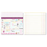 Carolee's Creations - Adornit - Circle of Friends Collection - 12 x 12 Double Sided Paper - Circle of Friends