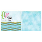 Carolee's Creations - Adornit - Circle of Friends Collection - 12 x 12 Double Sided Paper - Grandpa