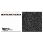 Carolee's Creations - Adornit - Wedding Collection - 12 x 12 Double Sided Paper - Together Forever