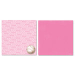 Carolee's Creations - Adornit - Softball Collection - 12 x 12 Double Sided Paper - Softball Talk