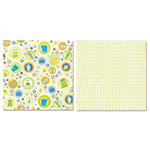 Carolee's Creations - Adornit - Boy Birthday Collection - 12 x 12 Double Sided Paper - Boy Scattered Presents