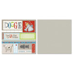 Carolee's Creations - Adornit - Doggie Life Collection - 12 x 12 Double Sided Paper - Doggy Cut Apart