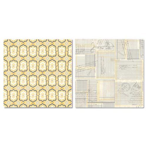 Carolee's Creations - Adornit - Capri Collection - 12 x 12 Double Sided Paper - Present Moments