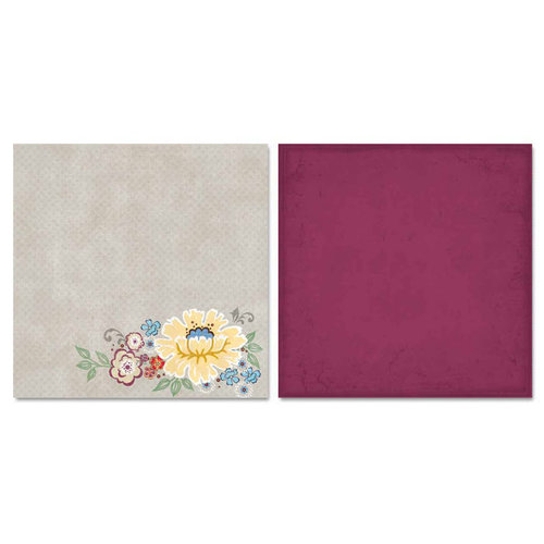 Carolee's Creations - Adornit - Charmed Collection - 12 x 12 Double Sided Paper - Charmed Forever