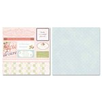 Carolee's Creations - Adornit - Remember When Collection - 12 x 12 Double Sided Paper - Remember When Cut Apart