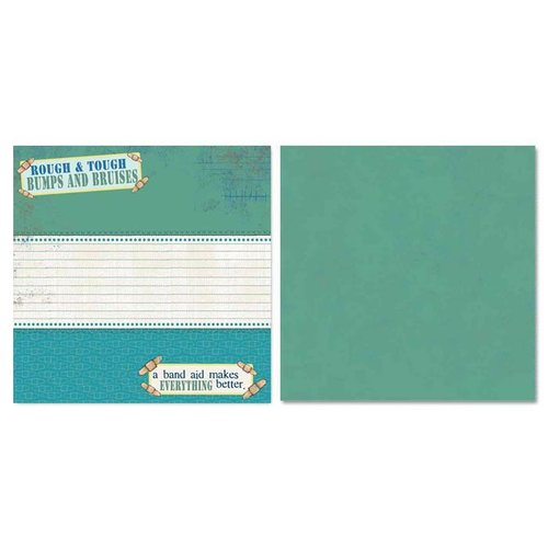 Carolee's Creations - Adornit - Ouch Collection - 12 x 12 Double Sided Paper - Ouch!