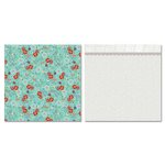 Carolee's Creations - Adornit - Bouquet Patches Collection - 12 x 12 Double Sided Paper - Bouquet