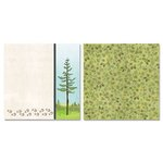 Carolee's Creations - Adornit - Camping Friends Collection - 12 x 12 Double Sided Paper - Animal Forest B