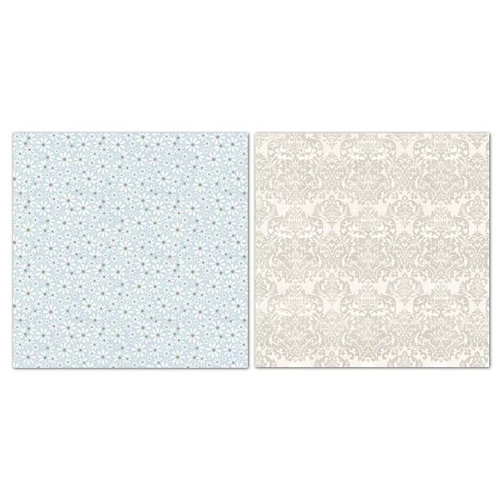 Carolee's Creations - Adornit - Capri Taupe Collection - 12 x 12 Double Sided Paper - Sunshine Daisy