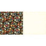 Carolee's Creations - Adornit - Wild Flower Collection - 12 x 12 Double Sided Paper - Bouquet