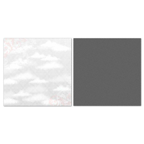 Carolee's Creations - Adornit - Princess Collection - 12 x 12 Double Sided Paper - Dreamy