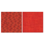 Carolee's Creations - Adornit - Blender Basics Collection -12 x 12 Double Sided Paper - Red Pixie Dots