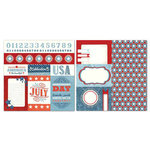 Carolee's Creations - Adornit - Seasons Collection - 12 x 12 Double Sided Paper - July Cut Apart