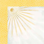 Carolee's Creations - Adornit - Rainy Days and Sunshine Collection - 12 x 12 Double Sided Paper - Sunshine and Rain Drops