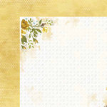 Carolee's Creations - Adornit - Bumble Collection - 12 x 12 Double Sided Paper - Posy