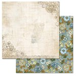 Carolee's Creations - Adornit - Wisteria Collection - 12 x 12 Double Sided Paper - Wisteria A